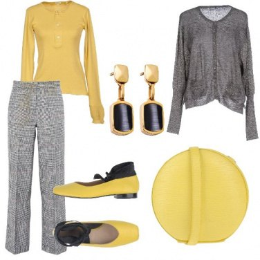 Outfit Ballerine e vichy