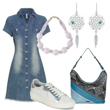 Outfit Shpping in jeans