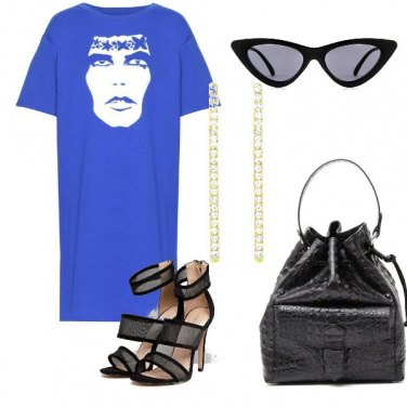 Outfit Disco rock