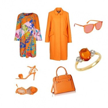 Outfit Russet Orange inspirational outfit