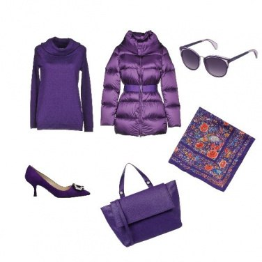 Outfit Ultra Violet inspirational outfit