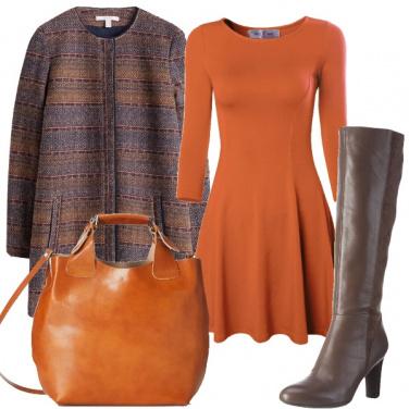 Outfit L\' arancio del paesaggio autunnale