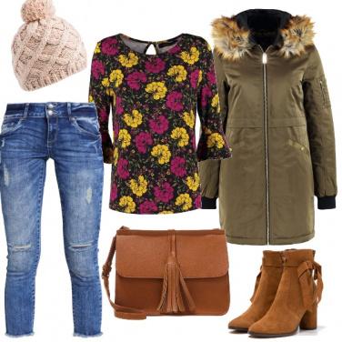 Outfit I fiori in città