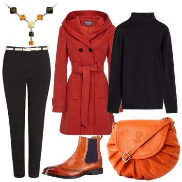 Outfit Toni caldi aranciati
