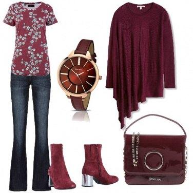 Outfit La borsa in vernice