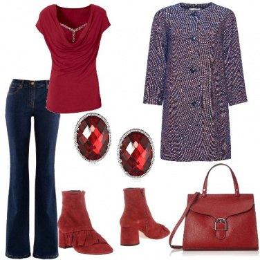 Outfit Jeans e soprabito