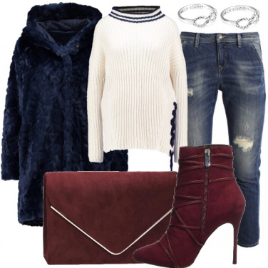 Outfit Cuore rubino