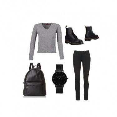 Outfit Autumn School Day
