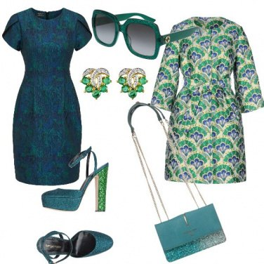 Outfit Ottanio blue e verde