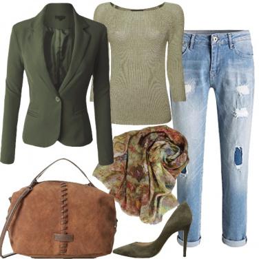 Outfit Mille volti del verde