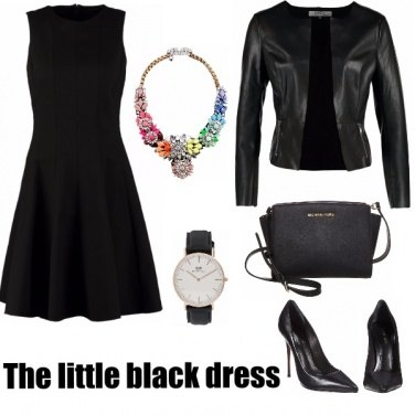 Outfit The little black dress