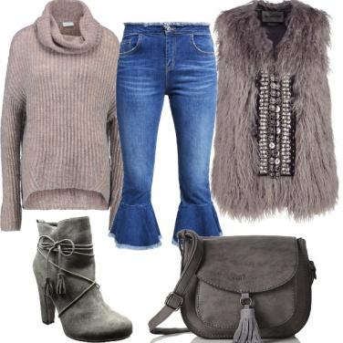 Outfit I jeans tagliati