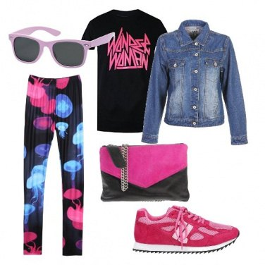 Outfit Pink sportiva