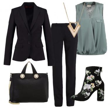 Outfit Fiori in ufficio