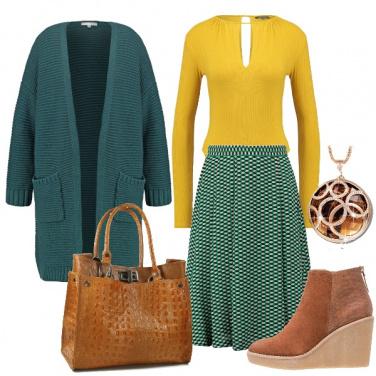 Outfit Il giallo che spicca