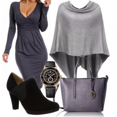 Outfit Grigio eleganza