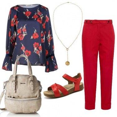Outfit CMPS Papaveri rosso