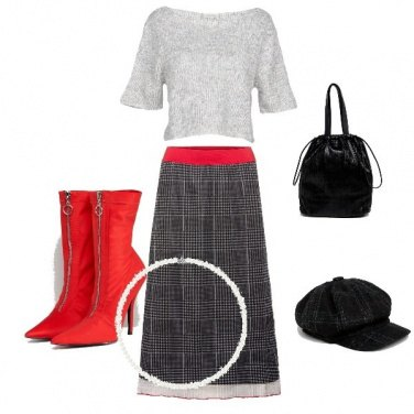 Outfit Rosso e Galles