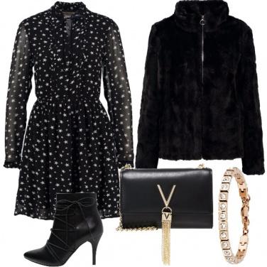 Outfit Stelle ed accessori preziosi