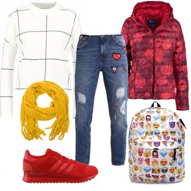 Outfit Uno zaino che parla
