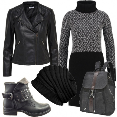 Outfit Ragazza rock