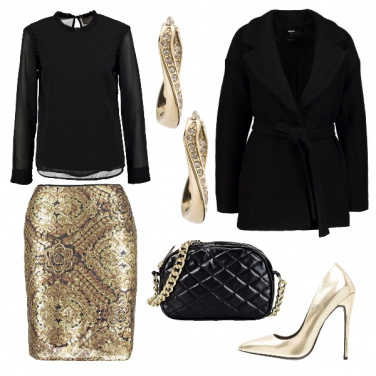 Outfit Sexy e brillante