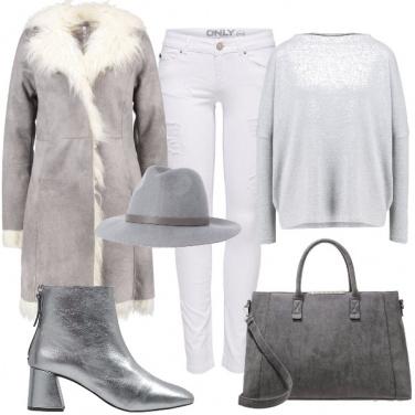 Outfit Toni di ghiaccio