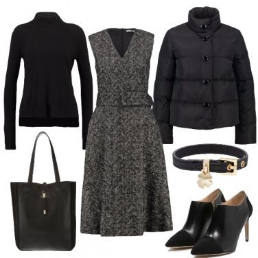Outfit Sfumature di nero