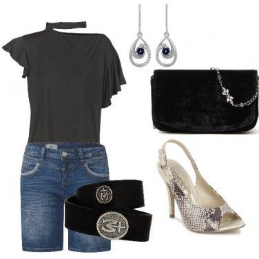 Outfit Aperitivo e serata disco