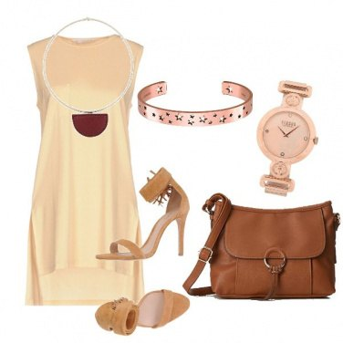 Outfit Varianti del beige