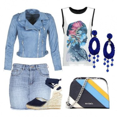 Outfit Jeans for ever