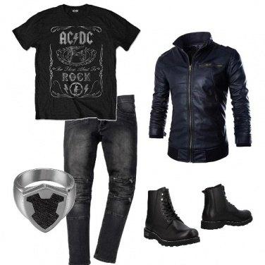Outfit Biker Rock #318
