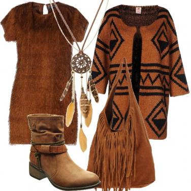 Outfit Stile etnico sensoriale
