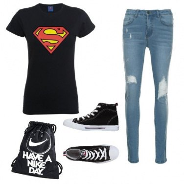 Outfit Super mom