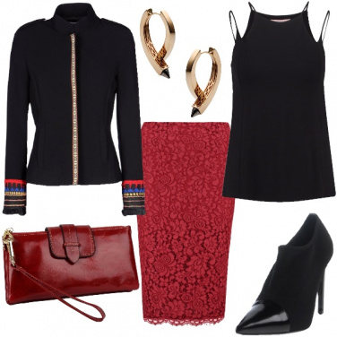 Outfit Eleganza in pizzo