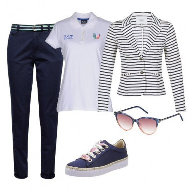 Outfit Domenica in barca