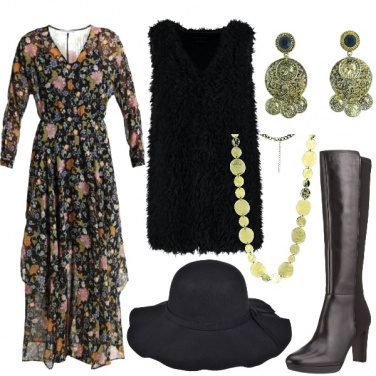 Outfit Lo stile bohemian