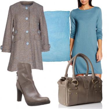 Outfit Talpa e azzurro