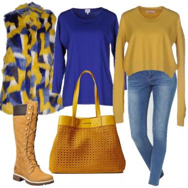 Outfit Giallo mania