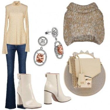 Outfit Semplice in riunione