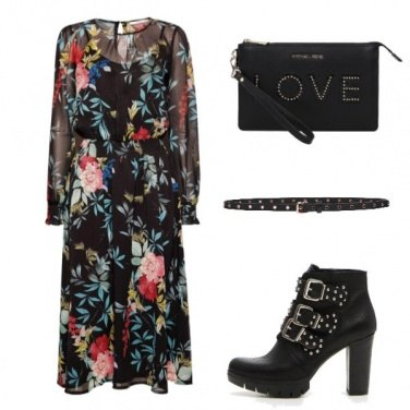 Outfit Rock & flowers
