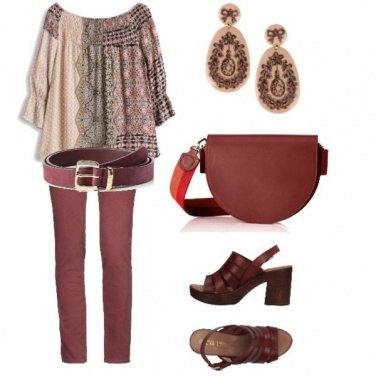 Outfit Bordeaux