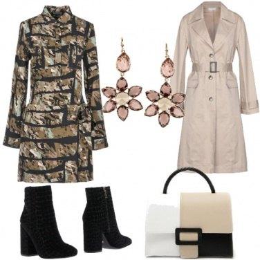 Outfit La borsa particolare e lo chemisier