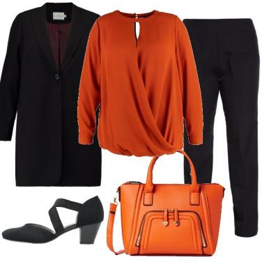 Outfit Curve in ufficio