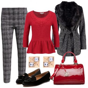 Outfit Chic e raffinato con brio