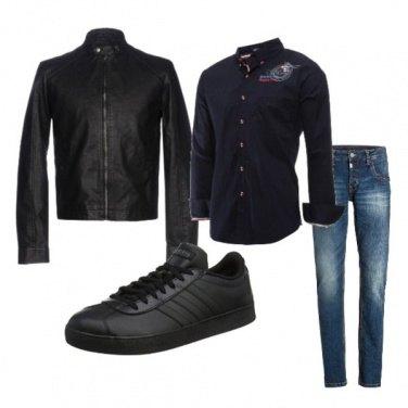 Outfit Biker Rock #322