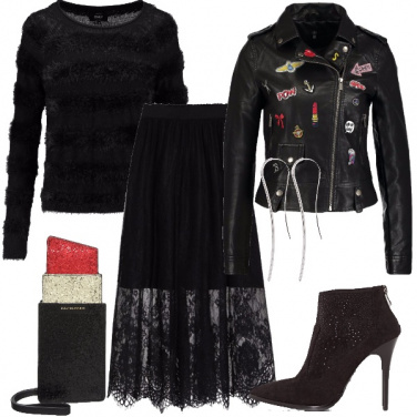 Outfit Aperitivo rock