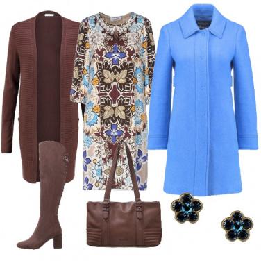 Outfit L\'azzurro intenso del cielo d\'inverno