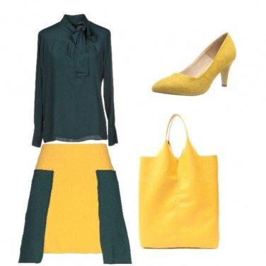 Outfit Giallo verde