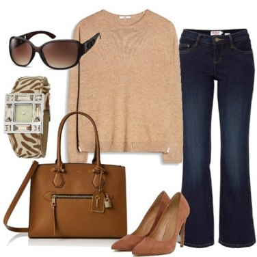 Outfit Camel shades
